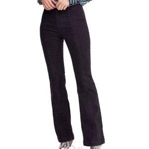 Free People Slim Flare Leg Jeans
